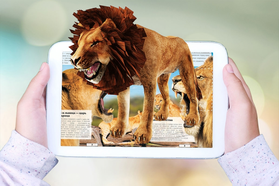 Encyclopedia of Animals with Augmented reality